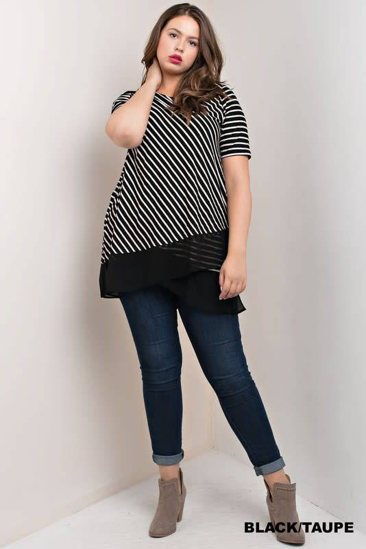 Double Stripe Top