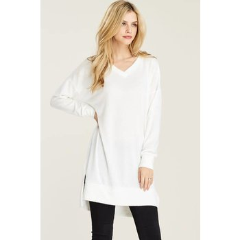 Sweater Tunic With Side Slits