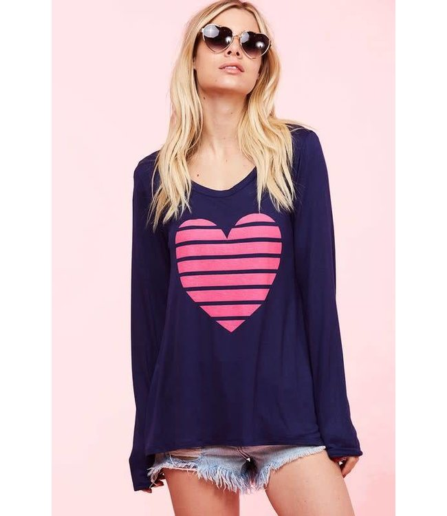 Heart graphic top