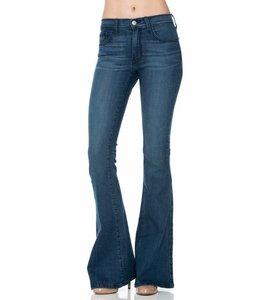 O2 Denim Mid Rise Flare Jeans