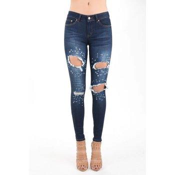 Hammer Destroyed Skinny Jeans