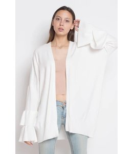 Dreamers Double Ruffle Cardigan
