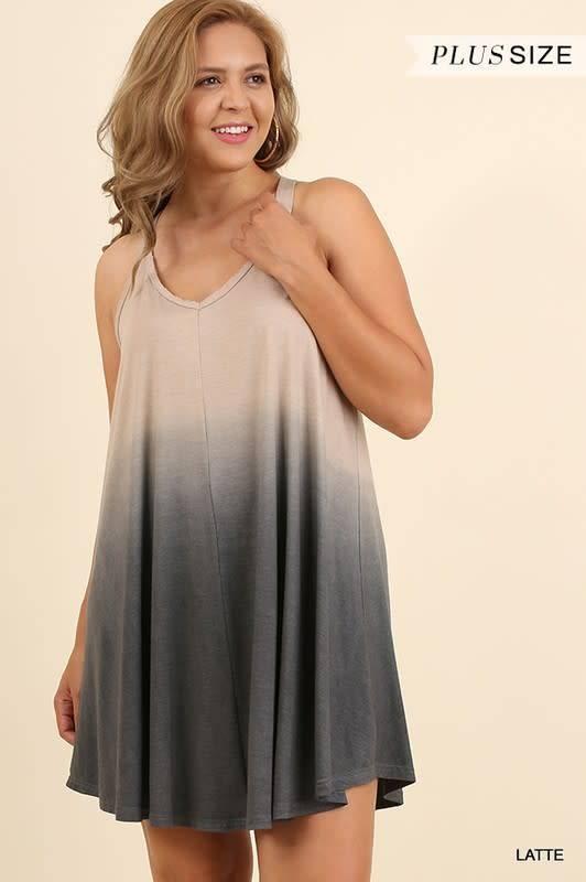 Dip Dye Dress