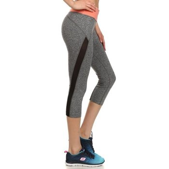 S&G Apparel Two Tone Capri Leggings