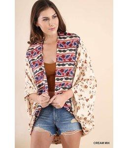 Dolman Sleeve Kimono