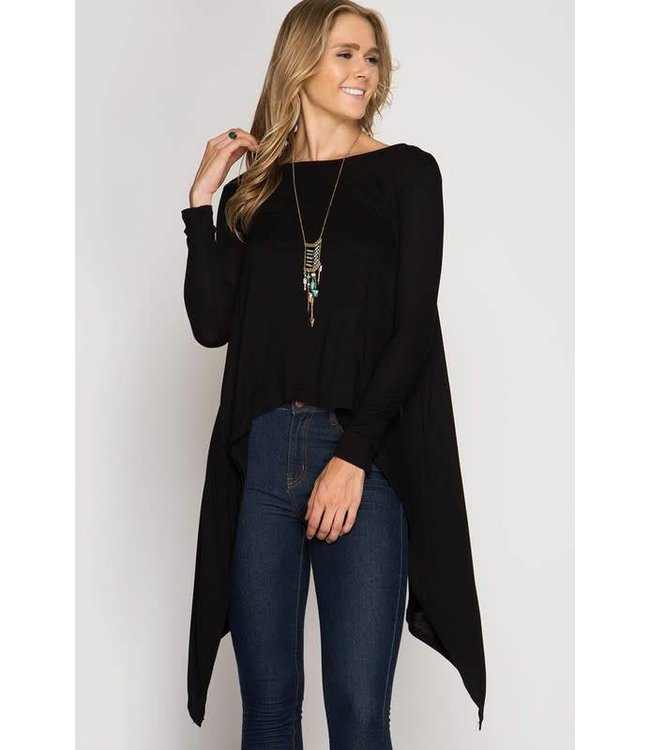 Sung Light Asymmetrical Top