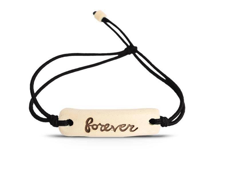 Mud Love Forever Adjustable Bracelet