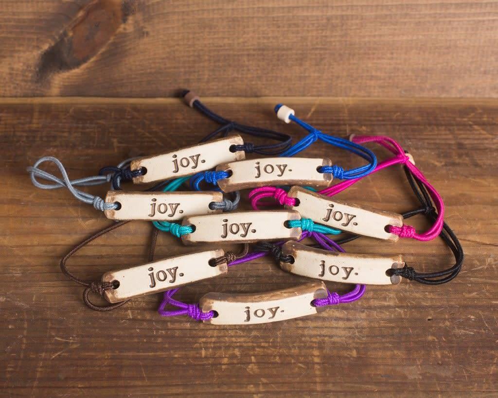 Mud Love Joy Adjustable Bracelet