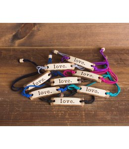 Mud Love Love Adjustable Bracelet