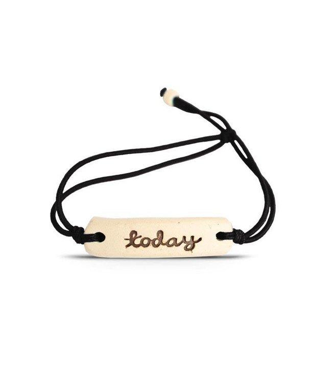 Mud Love Today Adjustable Bracelet