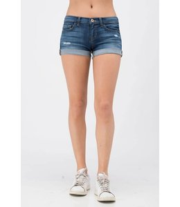 Sneak Peek Denim Mid-Rise Shorts