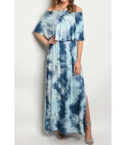 11 Degrees Off Shoulder Maxi Dress