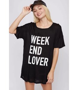Weekend Lover Graphic T