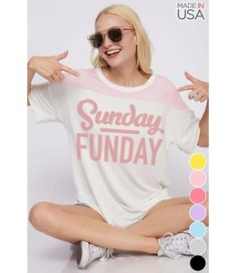 Sunday Funday Graphic T