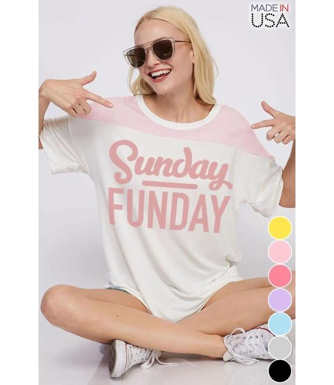 Fantastic Fawn Sunday Funday Graphic T