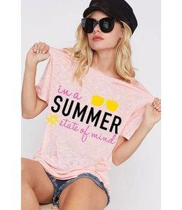 Summer Mind Graphic T