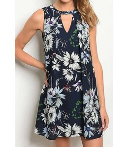 11 Degrees Pleated Floral Dress