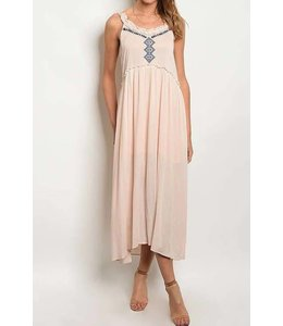 11 Degrees Embroidered Maxi Dress