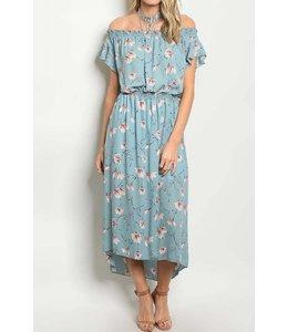 11 Degrees Flutter Sleeve Dress