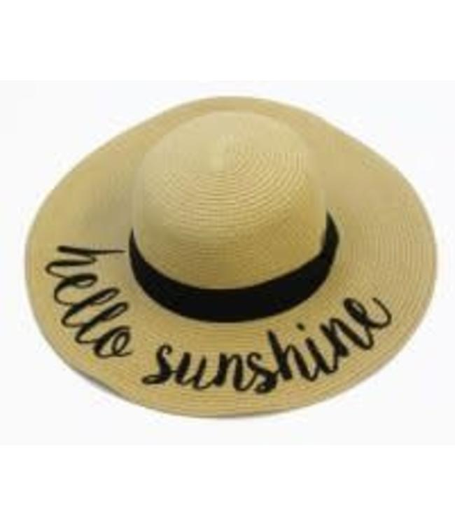 Girlie Girl Phrase Beach Hat