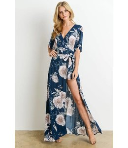 Charme U Kimono Wrap Romper