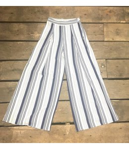 Flying Tomato Stripe Flare Pants