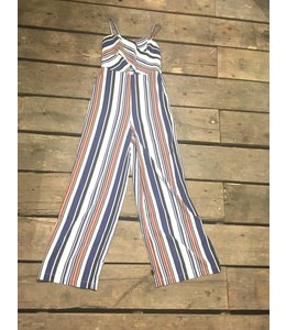 Flying Tomato Stripe Jumpsuit
