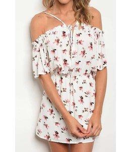 11 Degrees Off Shoulder Floral Dress
