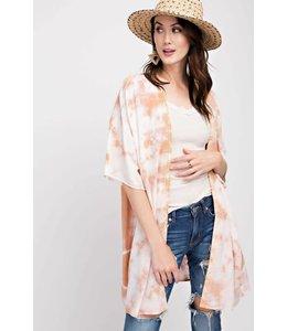 Easel Tie Dye Kimono