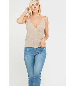 Wishlist V Neck Sweater Tank