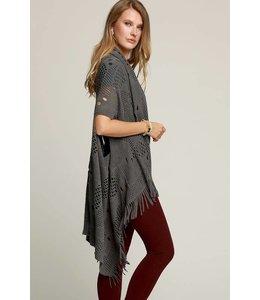 Urbanista Bohemian Crochet Knit Vest