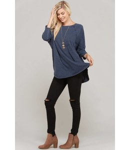Rae Mode Mineral Wash Dolman Top