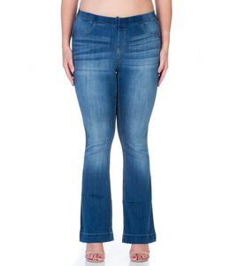 Cello Jeans Plus Flared Jeggings