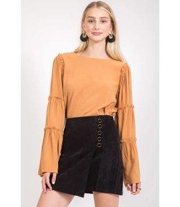 LoveRiche High Waisted Ring Skirt