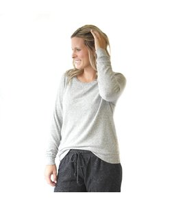 Royal Standard Hacci Pullover Top