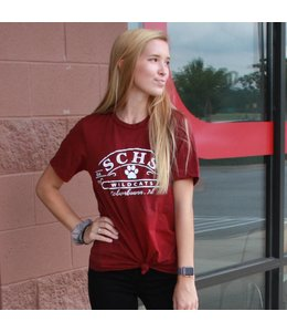 Bella and Canvas SCHS Wildcats Tri-Blend T-shirt