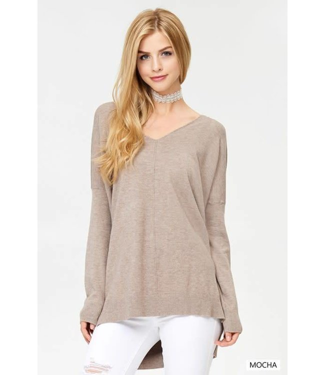 Dreamers Front Seam Sweater