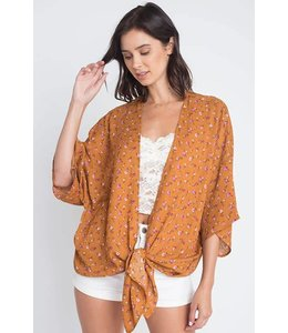 Dreamers Floral Kimono Top