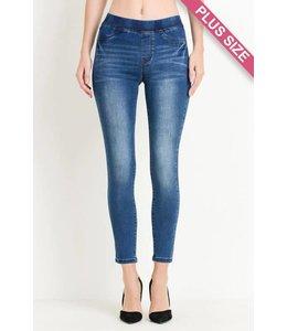 C'est Toi Elastic Skinny Jeans
