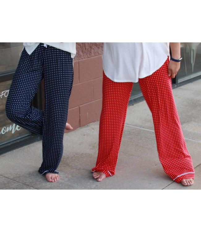 Royal Standard Pindot Pants