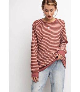 Easel Stripe Pullover