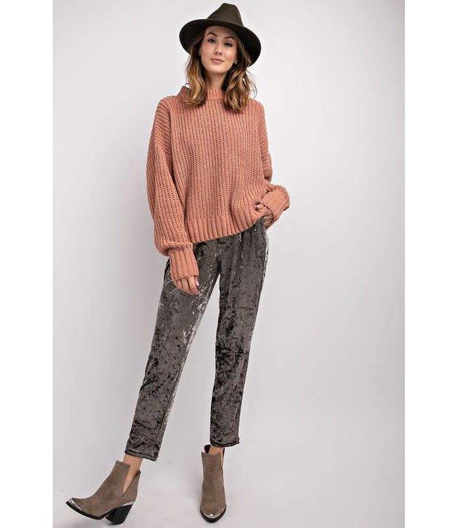 Easel Soft Knit Boxy Sweater