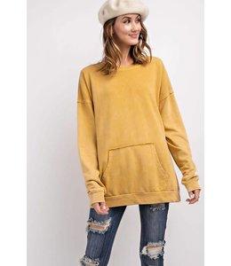 Easel Oversized Pocket Pullover