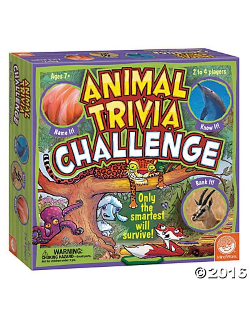 Animal Trivia Challenge by Mindware
