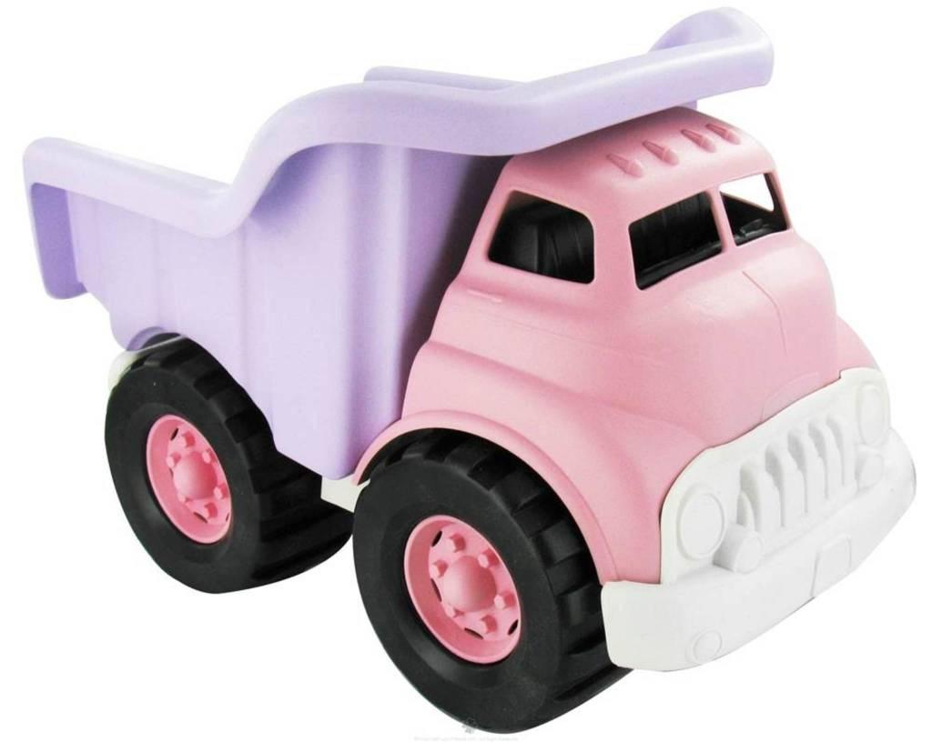Toys Pink Dump Truck : Dump truck pink green toys fundamentally