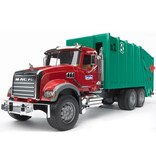 MACK Granite Rear-Loading Garbage Truck by Bruder Toys