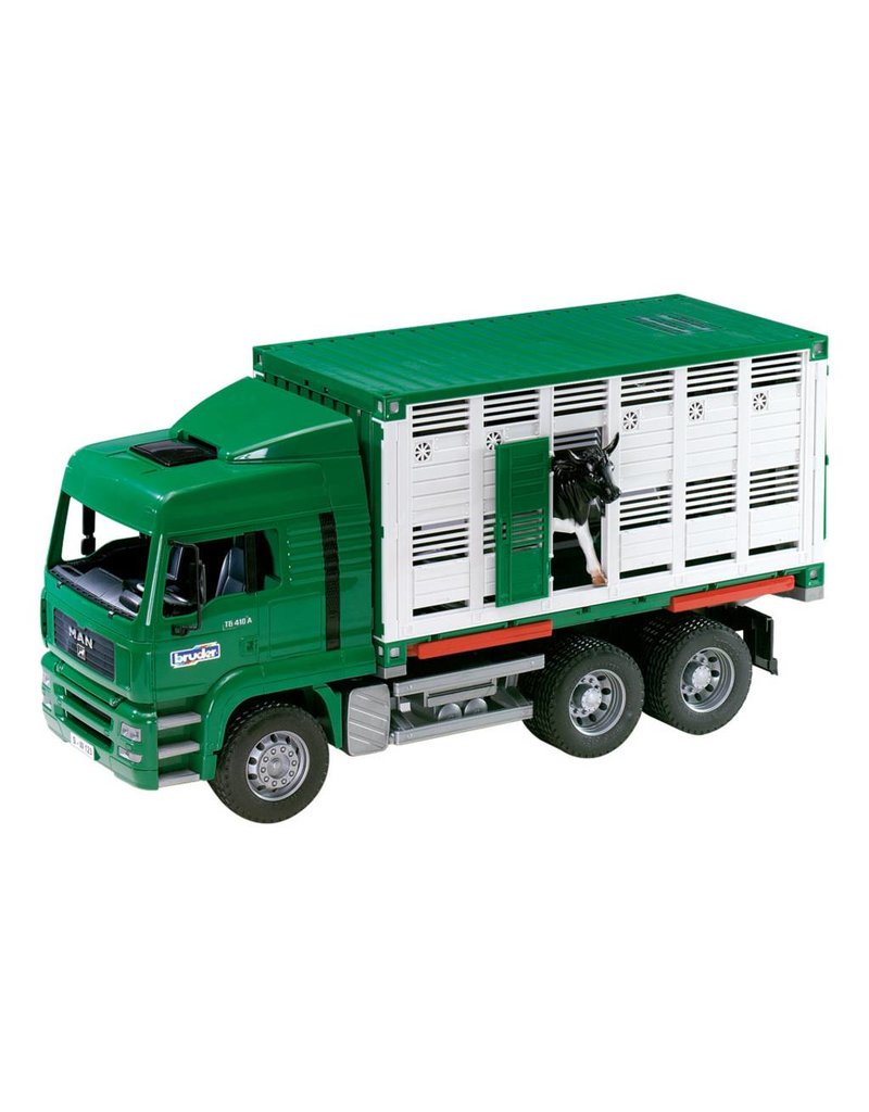 MAN Cattle Transport & Cow by Bruder