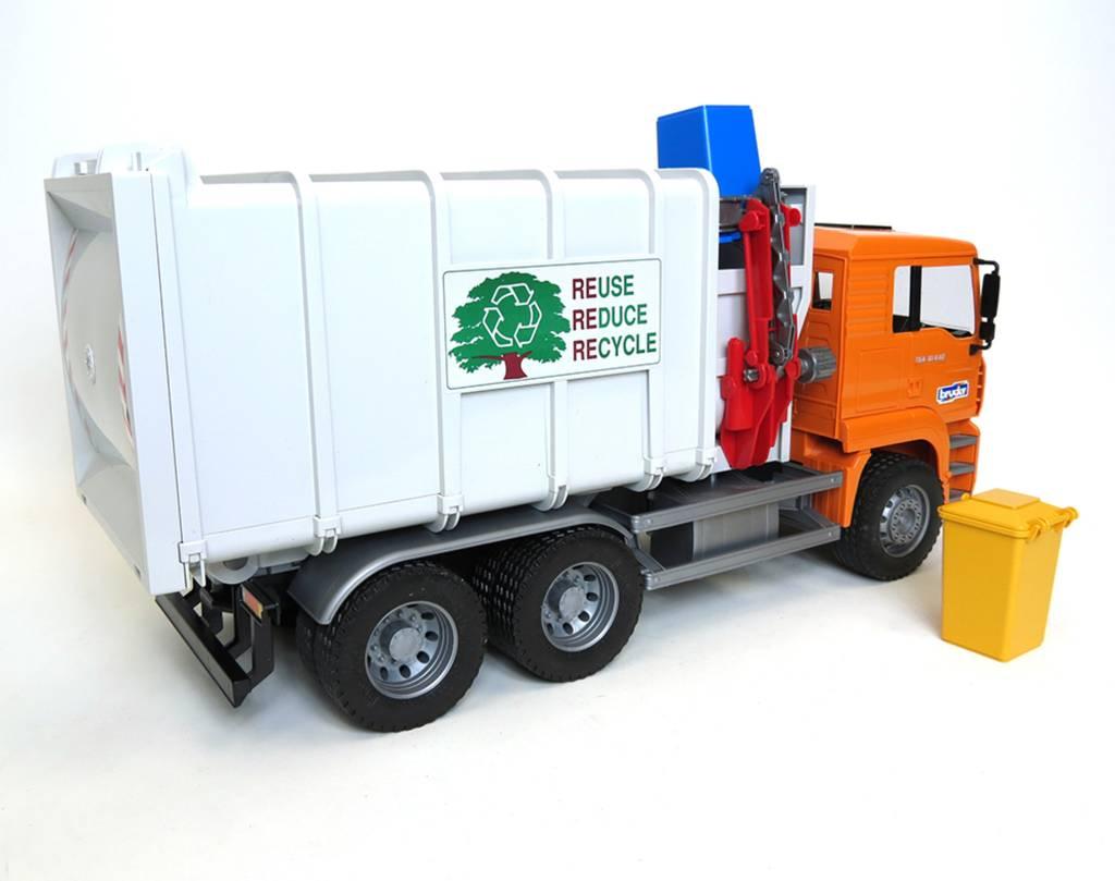 MAN Side Load Garbage Truck by Bruder