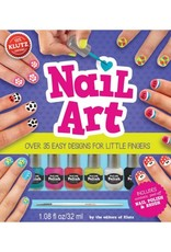 Nail Art Book & Kit by Klutz