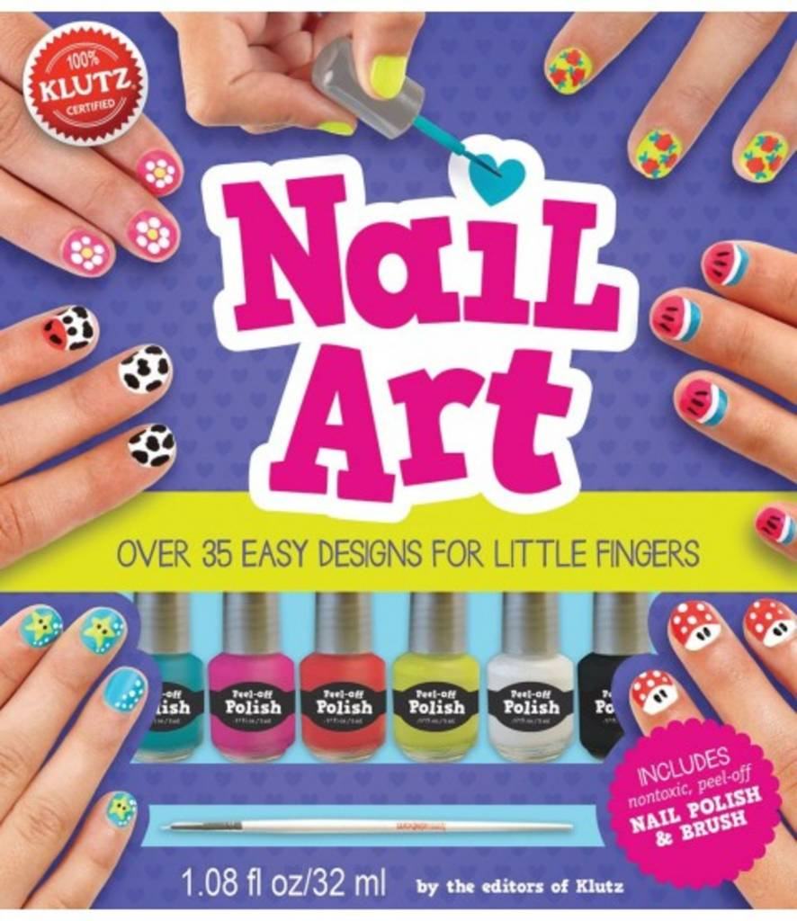 Nail Art Book & Kit by Klutz - FUNdamentally Toys